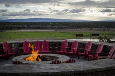 For great sunsets and delectable food, Range Restaurant at Brasada Ranch is worth the drive from #bend