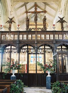 beautiful traditional english church for a wedding ceremony