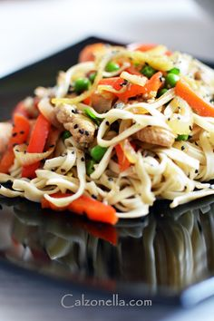 Chow Mein, Spaghetti, Lunch, Ethnic Recipes, Food, Eat Lunch, Eten, Meals, Noodle