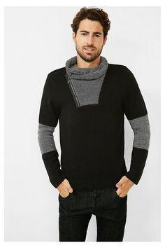 Jersey negro para hombre | Desigual.com L