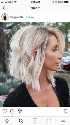 I really wanna cut my hair like this !! Super cute