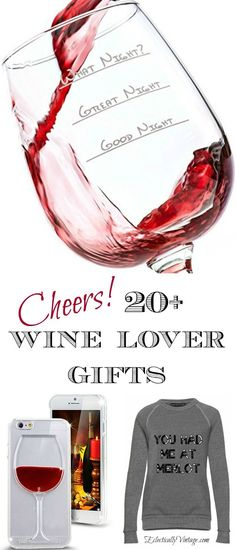 Cheers! Creative Wine Lover Gifts eclecticallyvintage.com