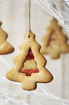 It's a tree decoration and a snack! Keep the dog away from these tasty treats, though.