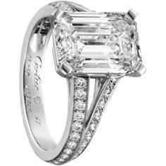 This MUST be my engagement ring! It's one of Cartier's exceptional rings! Future hubby, take note, LOL!