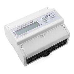 32.18$  Buy now - Digital LCD 50Hz 3x20(80)A KWH Power Energy Meter 3-Phase 4-Wire DIN Rail TE558  #bestbuy