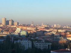 cidade ao amanhecer Turquia