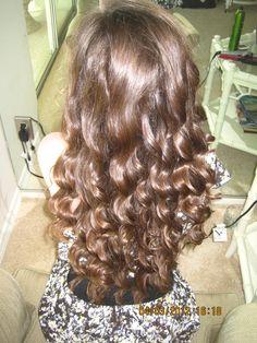 long summer curls