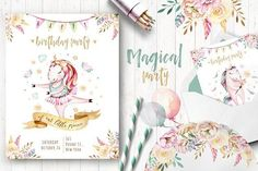Magical world II - Illustrations Business Illustration, Pencil Illustration, Graphic Illustration, Watercolor Drawing, Watercolor And Ink, Painting & Drawing, Clipart, Peace Art, Scrapbooking