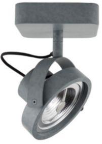 Zuiver - Dice Led Plafondlamp - Grijs - 1 Lamp