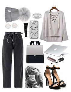 """Untitled #434"" by es019874 ❤ liked on Polyvore featuring Chanel, Music Notes, Dyson, Allies of Skin and Sole Society"