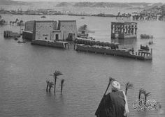 philae temples flooded