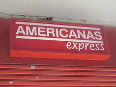 Fachada das Lojas Americanas/ Emissor: Lojas Americanas/ Destinatário: possíveis clientes que estiverem passando pela rua