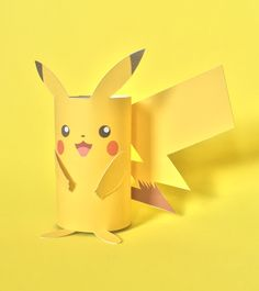 Step away from Pokemon Go and make a fun little Pikachu craft with a toilet tube!