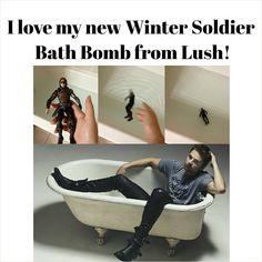 Sebastian Stan bath bomb - I'll take ; Sebastian Stan, Marvel Dc, Marvel Memes, Marvel Funny, Agent Carter, Univers Marvel, Bucky Barnes, Chris Evans, Tom Holland