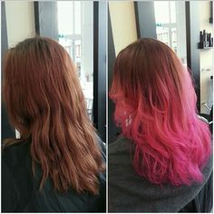 Hairdye - Flamingo pink / Carnation pink 💞 (Directions hairdye) throwback picture #flamingopink #pinkhair #pinkhairdontcare #salon #hairsalon #hairdresser #hairstylist #trend #hairdye #hairdo #blowdry #hairstyling #beautifulhair #gorgeoushair #lovelyhair #greathair #curlyhair #wavyhair #longhair #haironpoint #hairinspiration #hairinspo #coloredhair #dyedhair #hairtrend #crazycolor #crazycolorhair #directionshairdye #hairgoals #haircrush