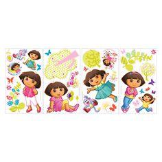 dora decals | Dora the Explorer Peel and Stick Wall Decals - Wall Decals at ...
