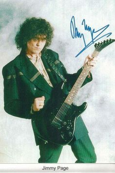 Jimmy Page, Outrider ~ autographed