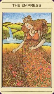 The Mythic Tarot - what a perfect depiction of her!  i need to check out the rest of this deck