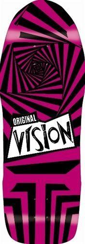 VISION ORIGINAL VISION REISSUE DECK VISION Original Vision DECK 2