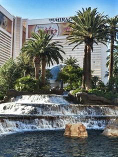The Mirage Hotel & Casino in Las Vegas, NV