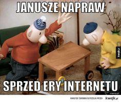 #janusze #naprawy #sasiedzi #kwejk #heheszki Best Memes, Funny Memes, Jokes, Everything And Nothing, Quality Memes, Read News, Creepypasta, Make You Smile, Haha