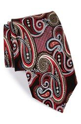 J.Z. Richards Silk Paisley Tie