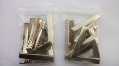 20 metal crocodile clips/metal alligator clips by Youaresocute on Etsy