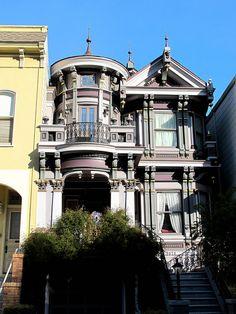 Noe Valley Victorian    San Francisco CA. U.S.A.