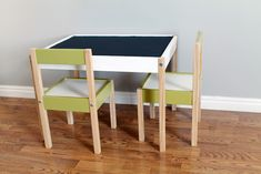 """DIY Decor - Ikea """"Latt"""" Hack - Going from drab to fab with paint!"""
