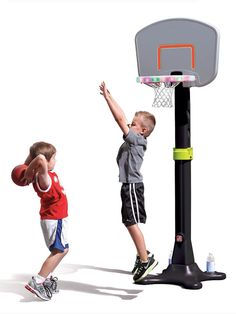 Light up Basketball hoop with sound. Great for a blind, low vision child! Just google where to find it. (Merry-Noel Chamberlain, TVI, NOMC)