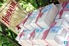 picnic style baby shower