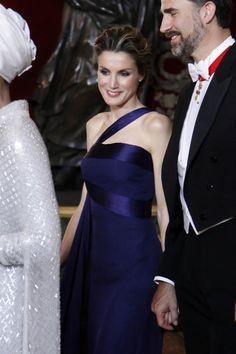 Prince Felipe and Princess Letizia of Spain.