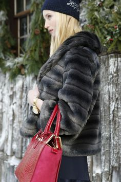 Will Tommy Hilfiger's faux-fur coat deliver warmth and glamor? Faux sure!