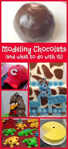 Modeling Chocolate | Little Delights