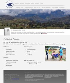 Endlich online! Für den Verein Emaús-Uripa durfte ich den neuen Webauftritt gestalten. - made by myhobby.ch