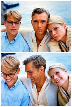 Matt Damon, Jude Law, and Gwenyth Paltrow