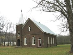 Bear Creek Cumberland  Presbyterian Church in Marshall County, Tennessee.