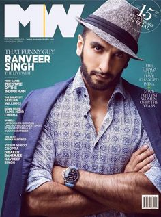 The quintessential quirky bad boy of Bollywood – Ranveer Singh is gracing the Man's World anniversary issue. The Bollywood badass is fondly named 'The Funny Guy' by Man's World look anything but funny on the …