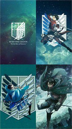 Attack on Titan Awesome Anime, Anime Love, Anime Guys, Manga Anime, Anime Art, Attack On Titan Tattoo, Attack On Titan Levi, Levi X Eren, Otaku