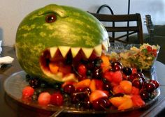 Godzilla watermelon …