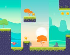 """Check out new work on my @Behance portfolio: """"Game background"""" http://be.net/gallery/61028721/Game-background"""