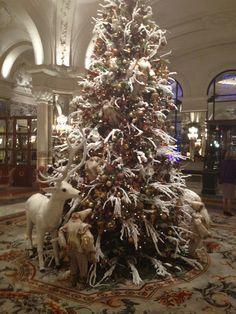 Christmas tree @ Hotel de Paris