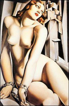 My favourite Tamara De Lempicka | Polish-born Art Déco painter