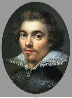 Portrait of a Man Monogrammist RF, 1606.  From the  Mauritshuis