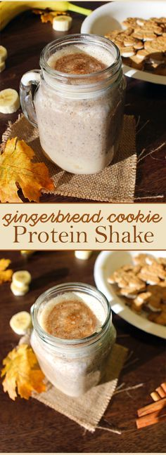 The holidays are right around the corner! Get into the spirit of the season with our Gingerbread Cookie shake recipe.