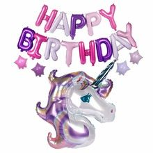 Buy FENGRISE Unicorn Balloon with Happy Birthday Letter Balloons Birthday Party Decorations for Kids Unicorn Party Favors Happy Birthday Letter Balloons, Birthday Letters, Birthday Star, Unicorn Birthday Parties, Online Party Supplies, Unicorn Party Supplies, Balloon Decorations Party, Birthday Party Decorations, Purple Happy Birthday