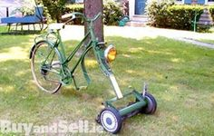 The most #fuel#efficient #lawnmower in the world!