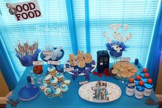Doctor Who Party Week: Food, Snacks, Recipes And Treats! Throughout Dr Who Party Decorations - Best Home Decor Ideas Doctor Who Birthday, Doctor Who Party, Doctor Who Wedding, Dr Who, Doctor Who Christmas, Food Doodles, Jelly Babies, Food Themes, Food Ideas
