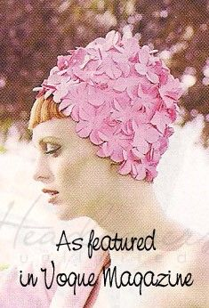 Petite Petal Retro Swim Cap   Headcovers.com