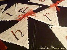 As The Card Rack Turns: 12 Easy DIY Christmas Decorating Ideas